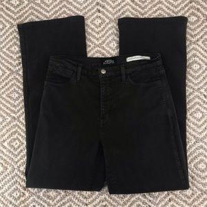 NYDJ Dark Gray Boot Cut High Rise Jeans